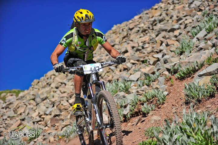 Kennebec Pass on the Colorado Trail. Top of Stage 1. Photo: Nick Ontiveros, Big Mountain Enduro.