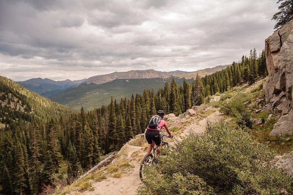 Alpine Trail, St. Elmo, Colorado. Photo: Scott Anderson.