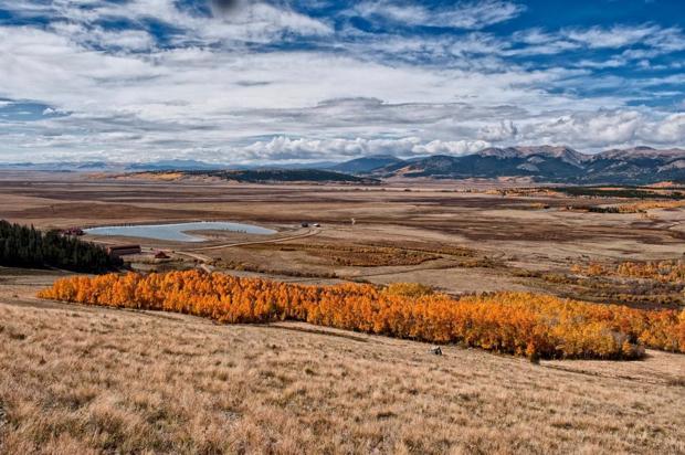 Colorado Trail: Kenosha Pass to Georgia Pass, Fairplay. Photo: Colin 1983