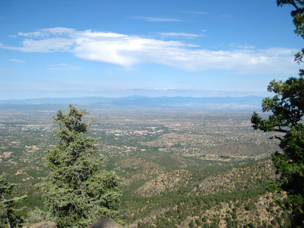 Atalaya Mountain, Santa Fe. Photo by: ckdake