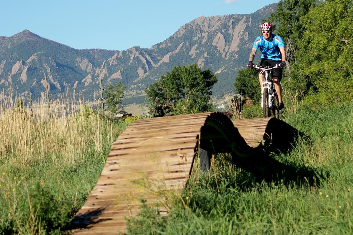 Valmont Bike Park, Boulder. Photo: Guest.