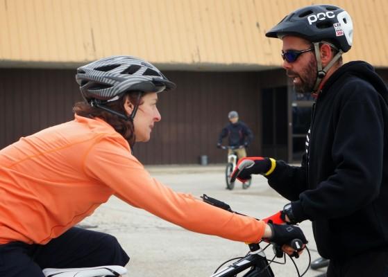 Lee McCormack, MTB instructor, Lee Likes Bikes
