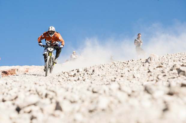 Mammoth's iconic Kamkikaze run will be open this weekend for the first time this year. It's like riding a terrifyingly fast piece of mountain biking history and also serves as the venue for one of the main events at the Kamikaze Bike Games (Sept. 18-21): http://www.kamikazebikegames.com/