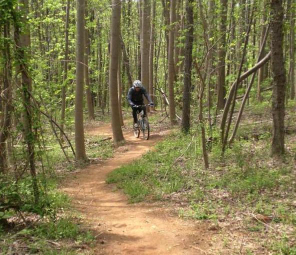 USNWC trail in Charlotte. Photo by: EZ-E