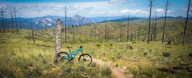 At near 8,000 ft, this bike makes riding seem...easy?