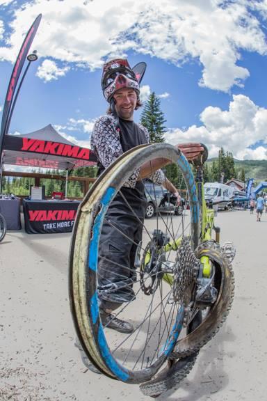 Keystone took its toll on many a bike. Photo: Nick Ontiveros/BME