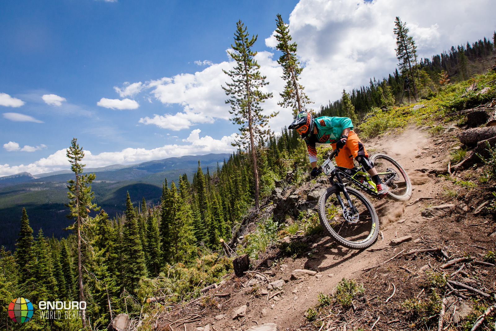 Mitch Ropelato on stage four. EWS 5 2014 Winter Park. Photo by Matt Wragg