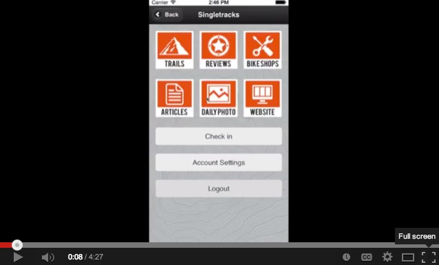 2014-07-31 how to find trails using the app