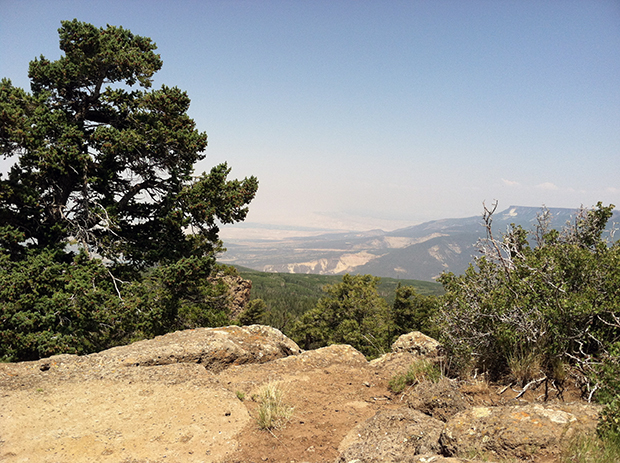 The view from Indian Point on the Grand Mesa