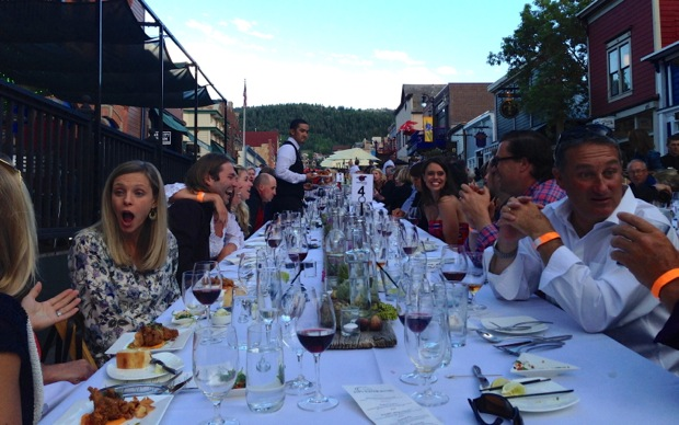 Each summer many of the best restaurants in Park City set up tables on Main Street for Savor the Summit. Reservations are a must.