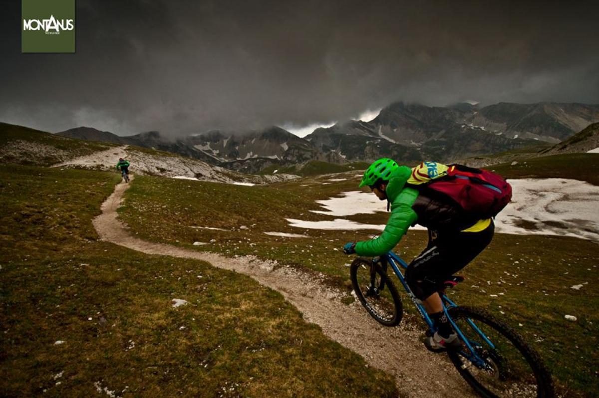 Location: Gran Sasso d'Italia, Abruzzo (ITALY) - photo/riders: MONTANUS