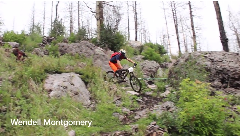 Screenshot from the MTB Mania video (below).