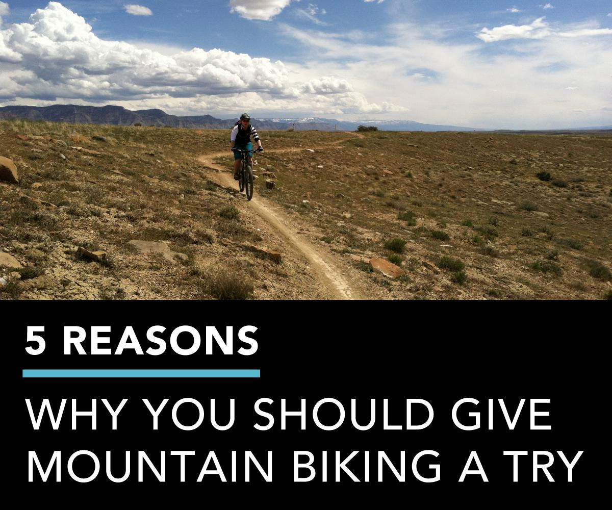 5 reasons to try mtb