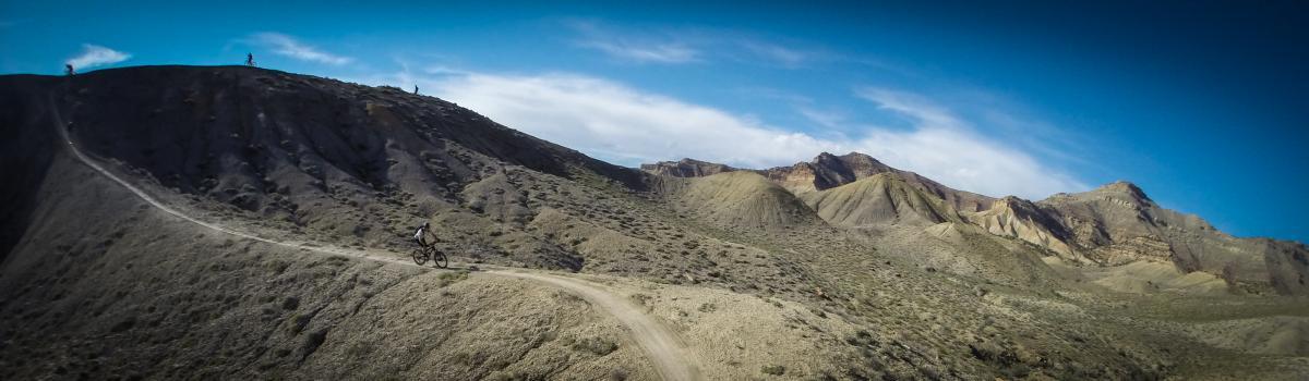 Trail: Zippety Do Dah, 18 Road Trail System, Fruita, CO. Photo: Delphinide.