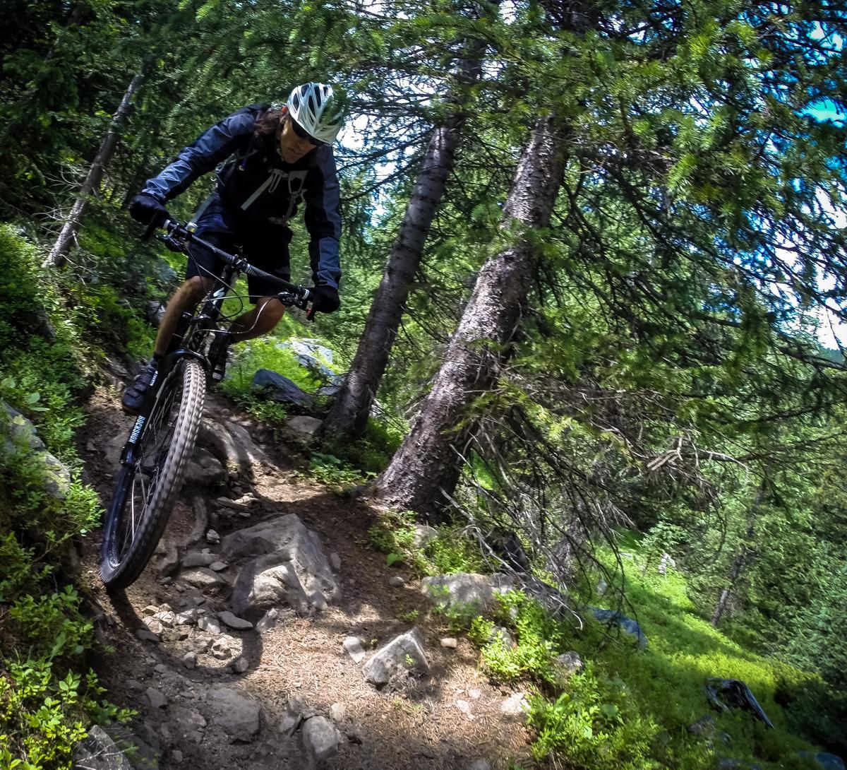 Trail: Green's Creek, Salida, CO. Rider: Jeff. Photo: Delphinide.