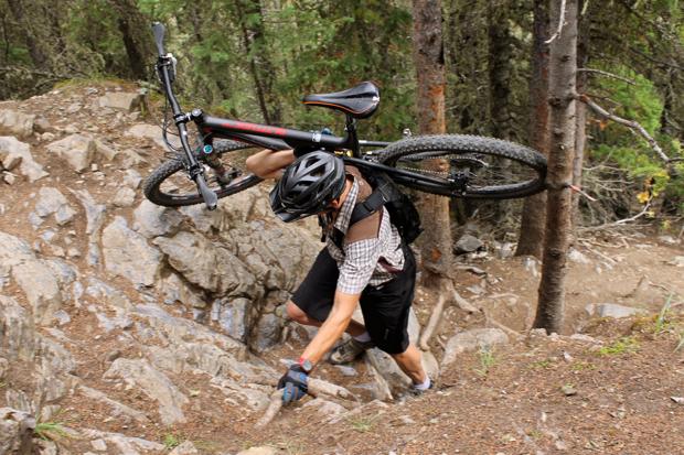 "Putting the ""mountain"" in ""mountain biking"""