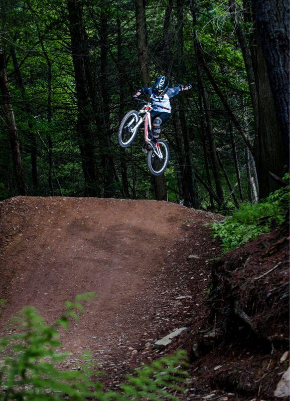 Blue Mountain Bike Park, Pennsylvania. Photo: 	Brad Buczek