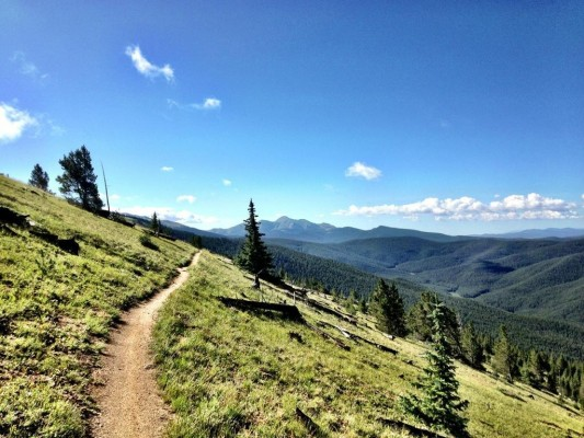 The Monarch Crest trail no longer qualifies as Epic. photo: Greg Heil