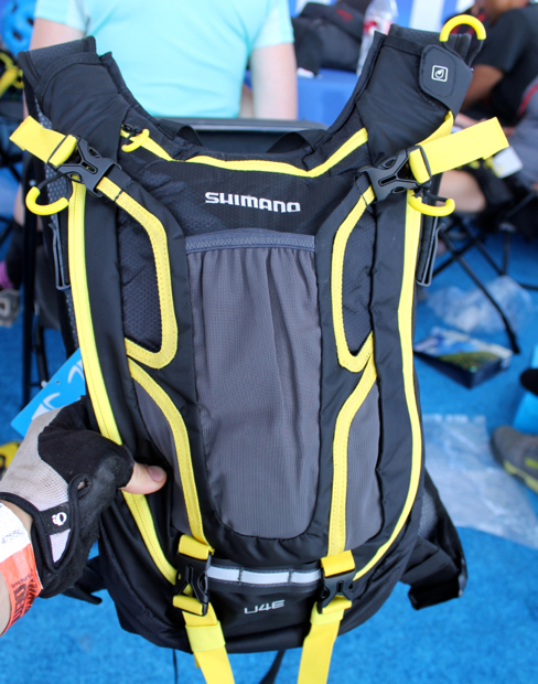 This is a special edition yellow pack. The standard color will be Shimano blue.