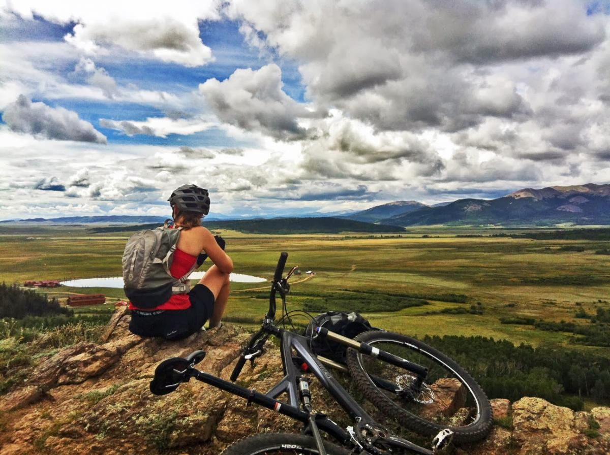Colorado Trail: Kenosha Pass to Breckenridge. Photo: tcbroncs.