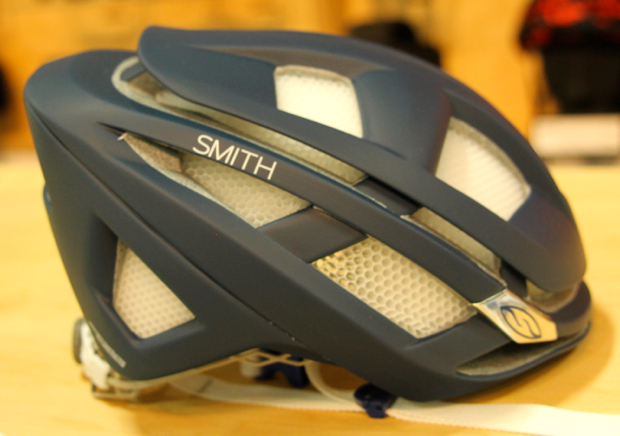 The new Smith road/XC race helmet, the XXXX, which is also specially designed to work with Smith eyewear.