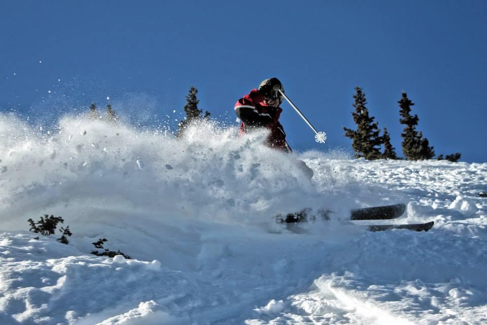 Skier: AJ Heil. Photo: Greg.