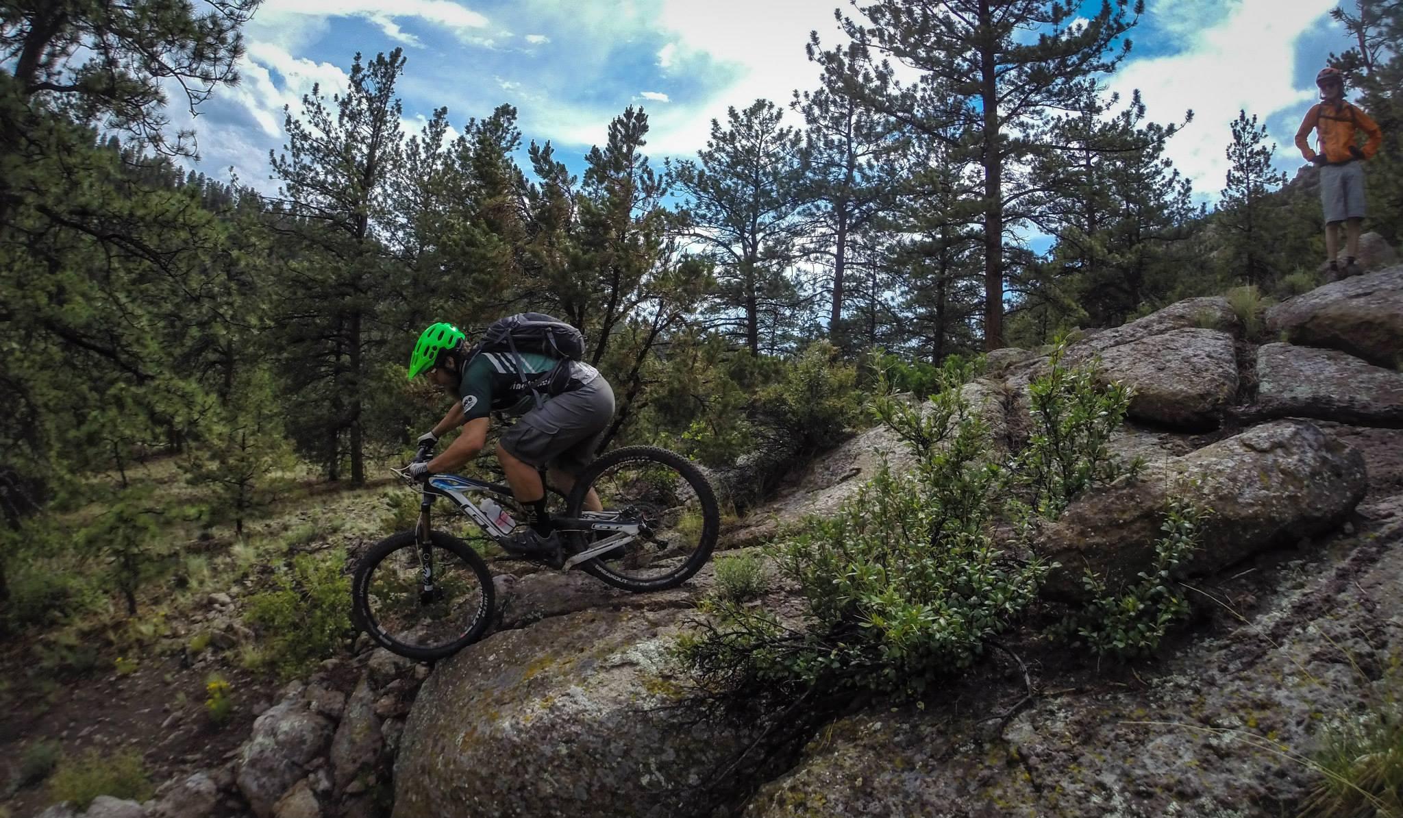 Rider: Greg. Photo: delphinide.