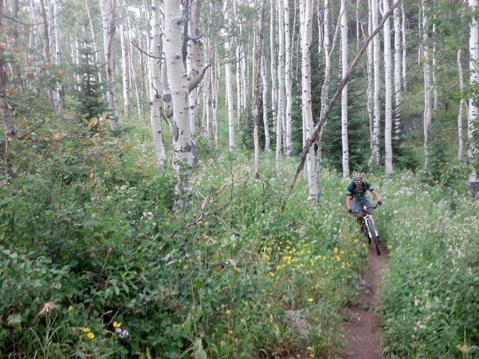 Riding the Buffalo Pass trails, 2013. Photo: Max P.