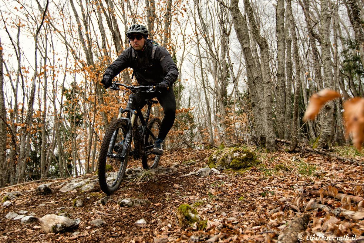 Mountain biking in Italy. Photo: Sergio Barboni.