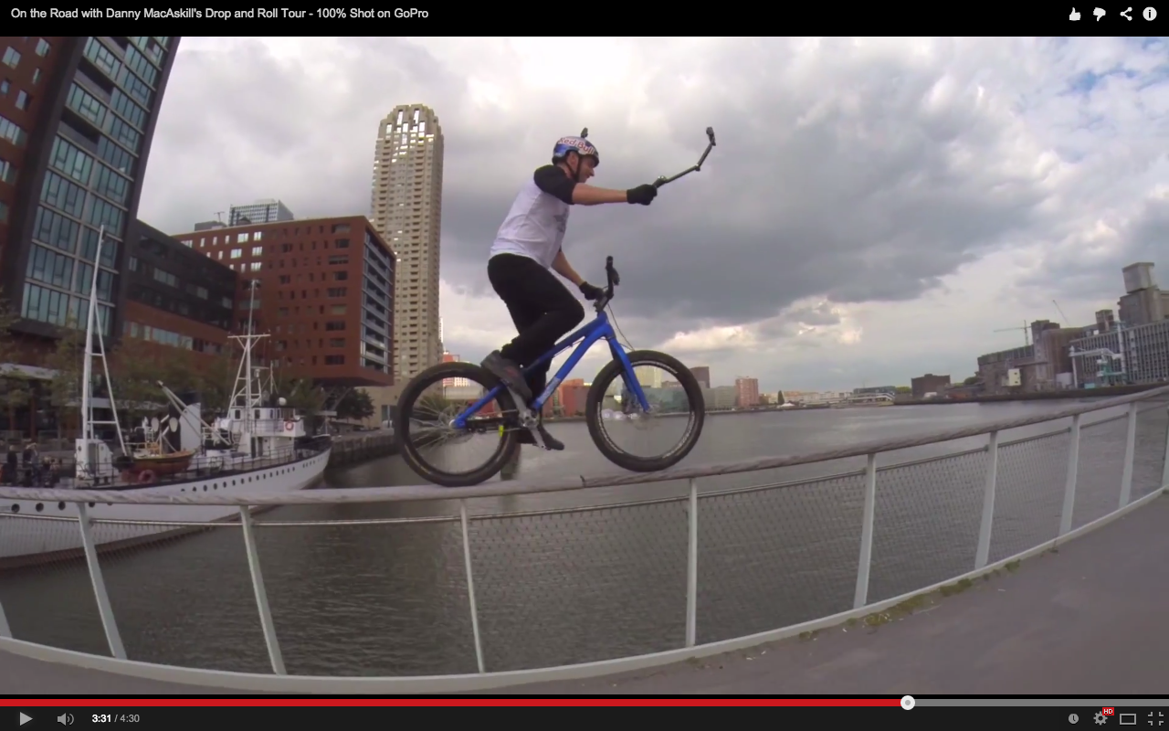 video  on the road with danny macaskill u0026 39 s drop and roll