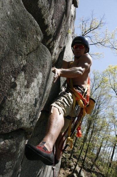 Climber: Greg.