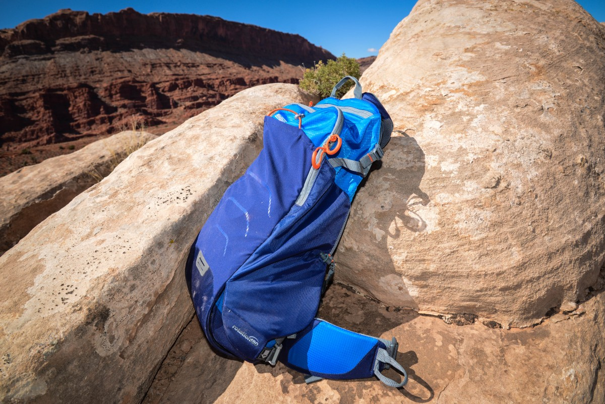 The rotation180 is perfect for places like Moab where falling on rocks is not healthy for your camera gear