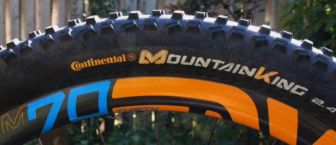 f6ec20f0124 The Mountain King is best described as an all conditions tire. Featuring an  open design and an alternating pattern, this tire self-cleans while it  rolls.