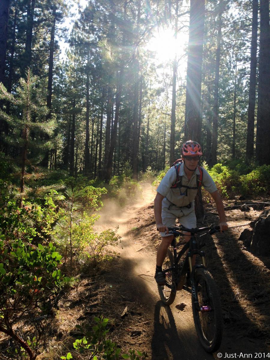 Trail: Tiddlywinks, Bend, Oregon. Photographer: AnnieG Rider: Justin70