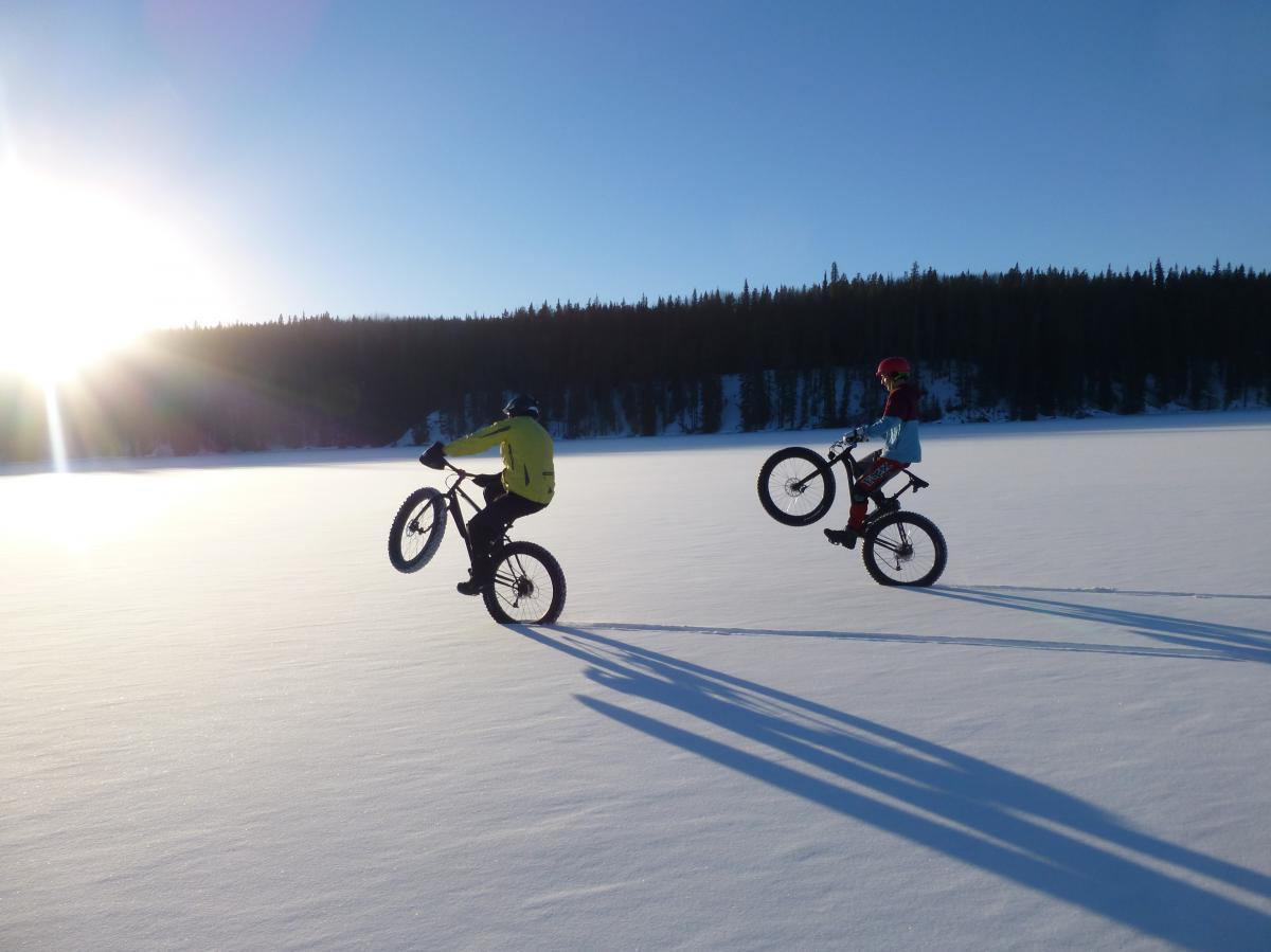 Lake crossing near Jasper, Alberta. Photo: chuckpelley.