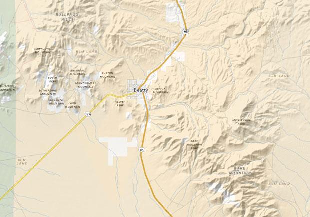 Map: Neotreks.