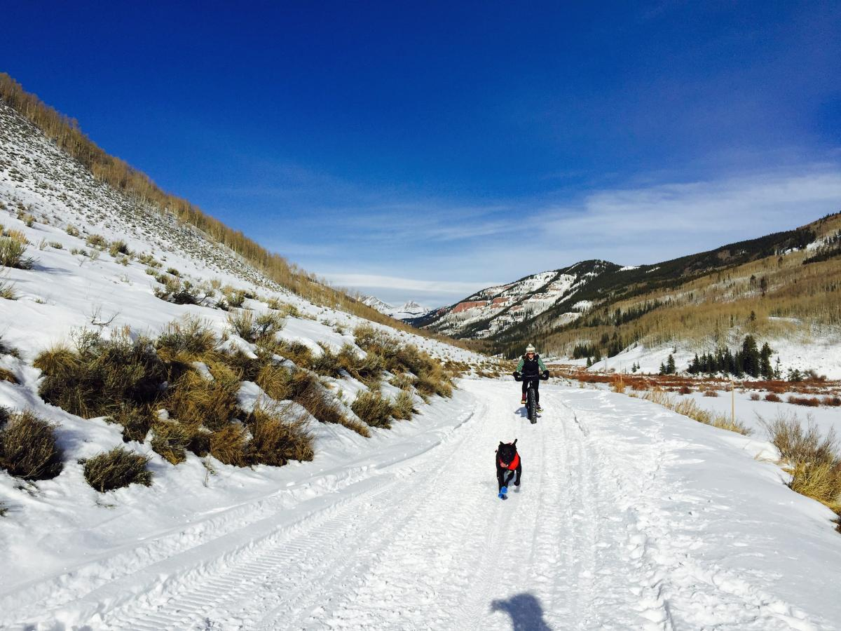 Cement Creek Road, Crested Butte, Colorado. Photo: GimmeAraise.