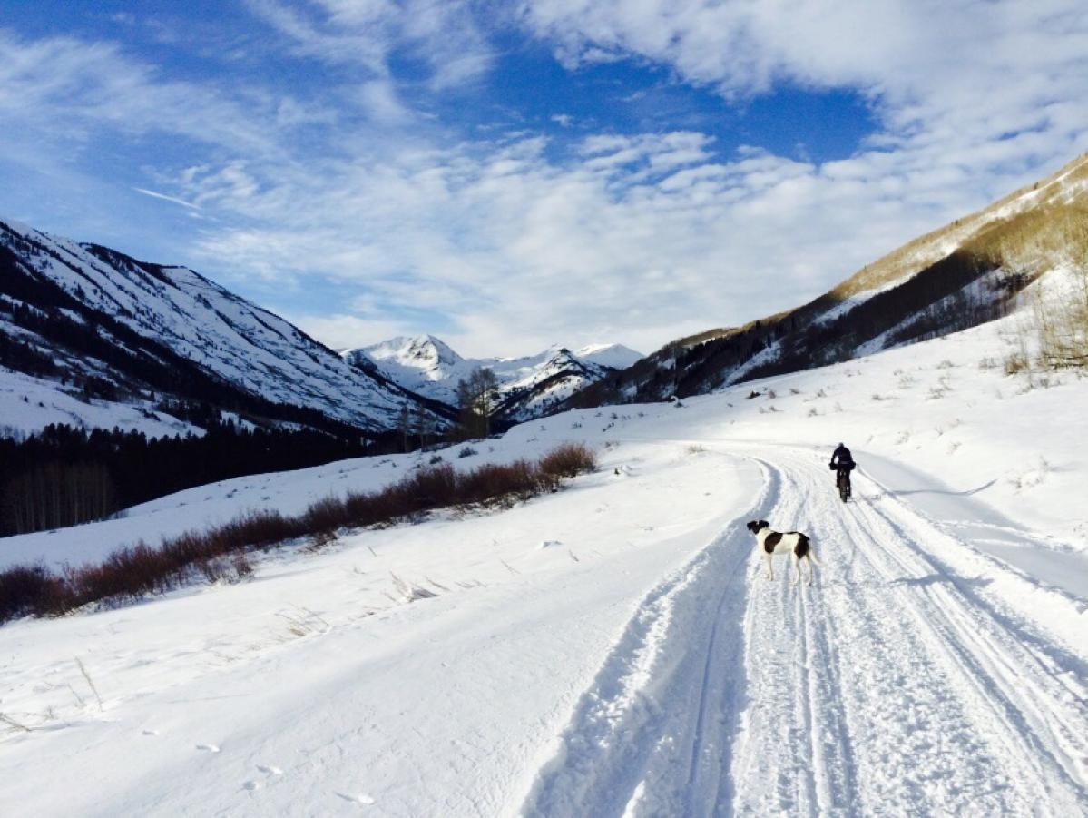 Slate River Road, Crested Butte, Colorado. Photo: GimmeAriase.