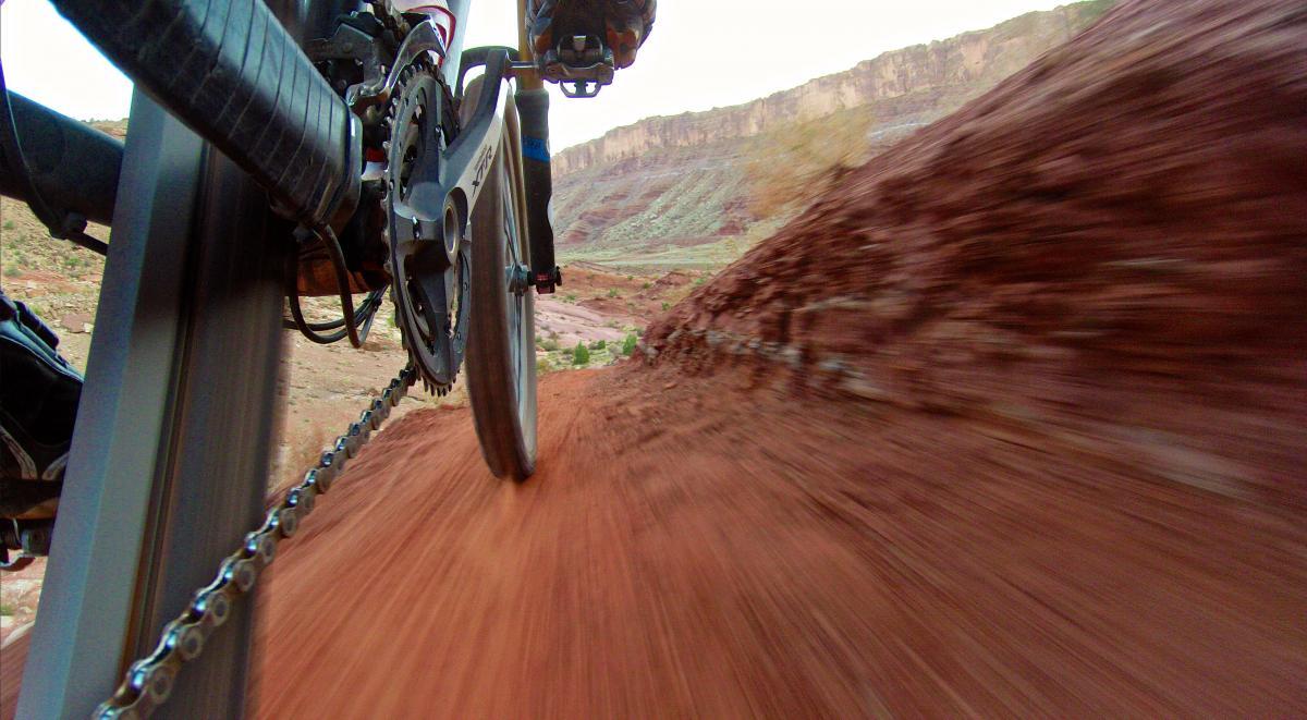 Moab Brand Trails, Utah. Photo: Erik Proano.