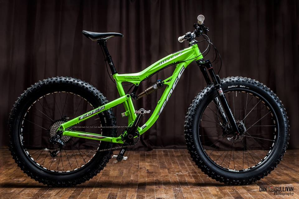 On Review The Foes Mutz Full Suspension Fat Bike