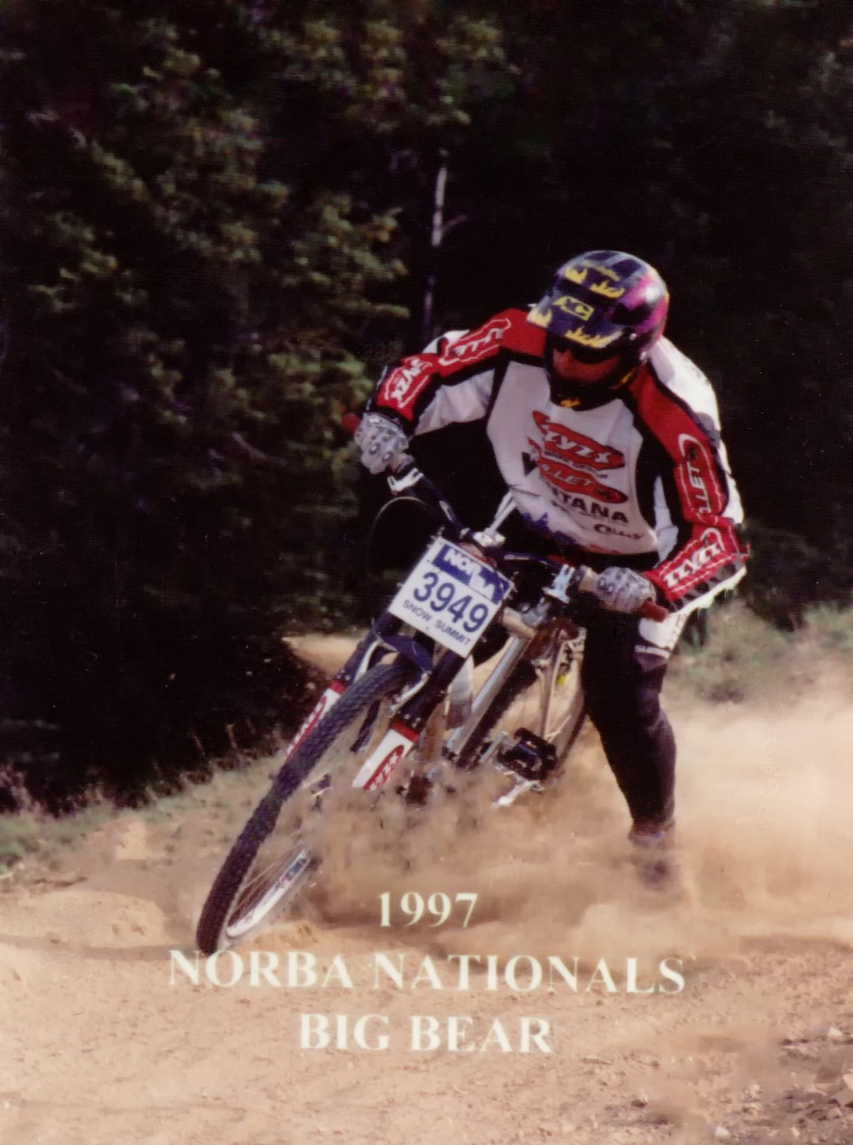 1997 NORBA Nationals Big Bear Lake, CA I took 3rd at this race. Now I'm 50 and still just as hard on the trails as I was back then... but a wee bit slower! Photo: Chris Sgaraglino