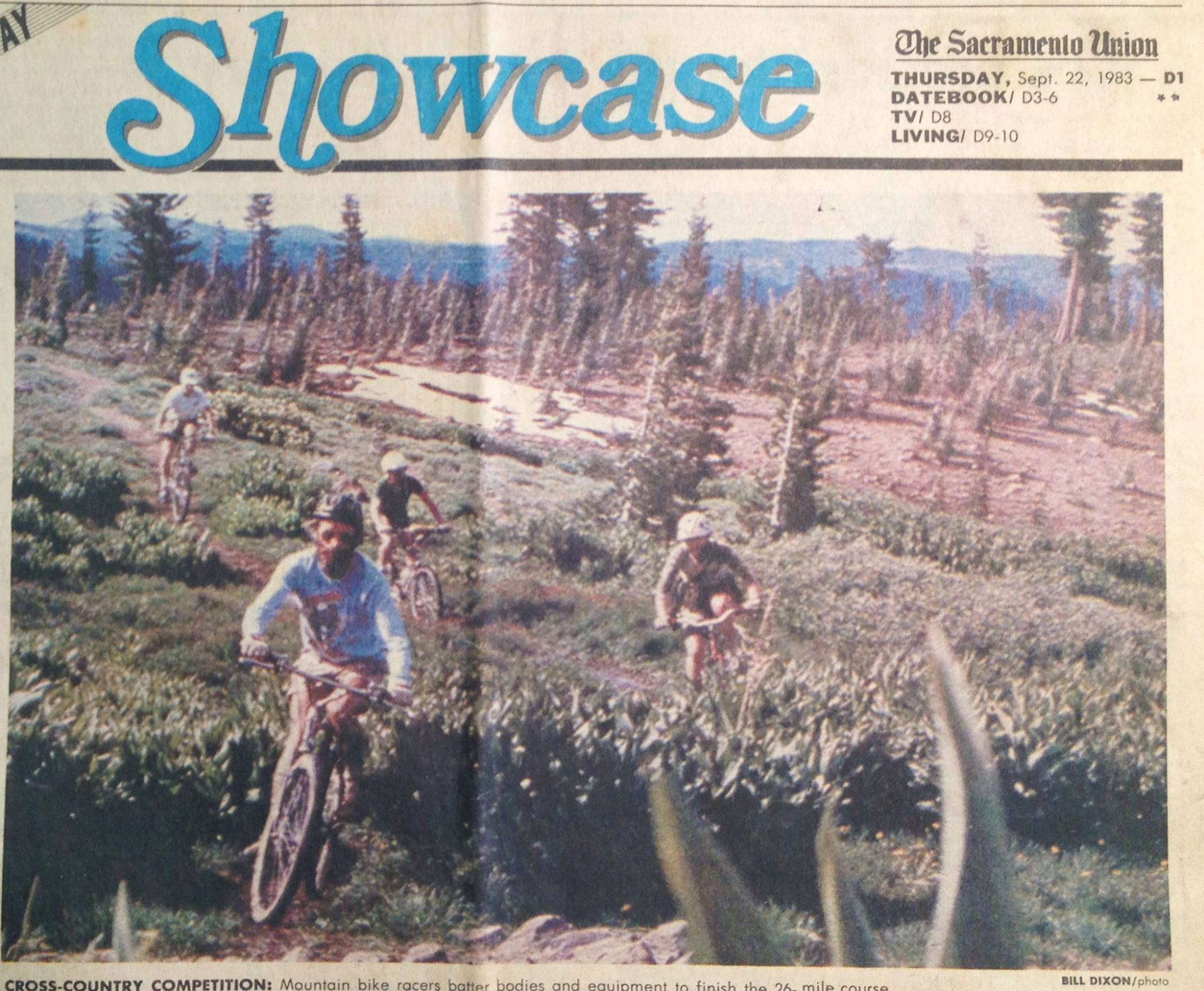 Pacific Crest Trail near Donner Summit / Basin Peak in 1982. Photo: Sharing the PCT
