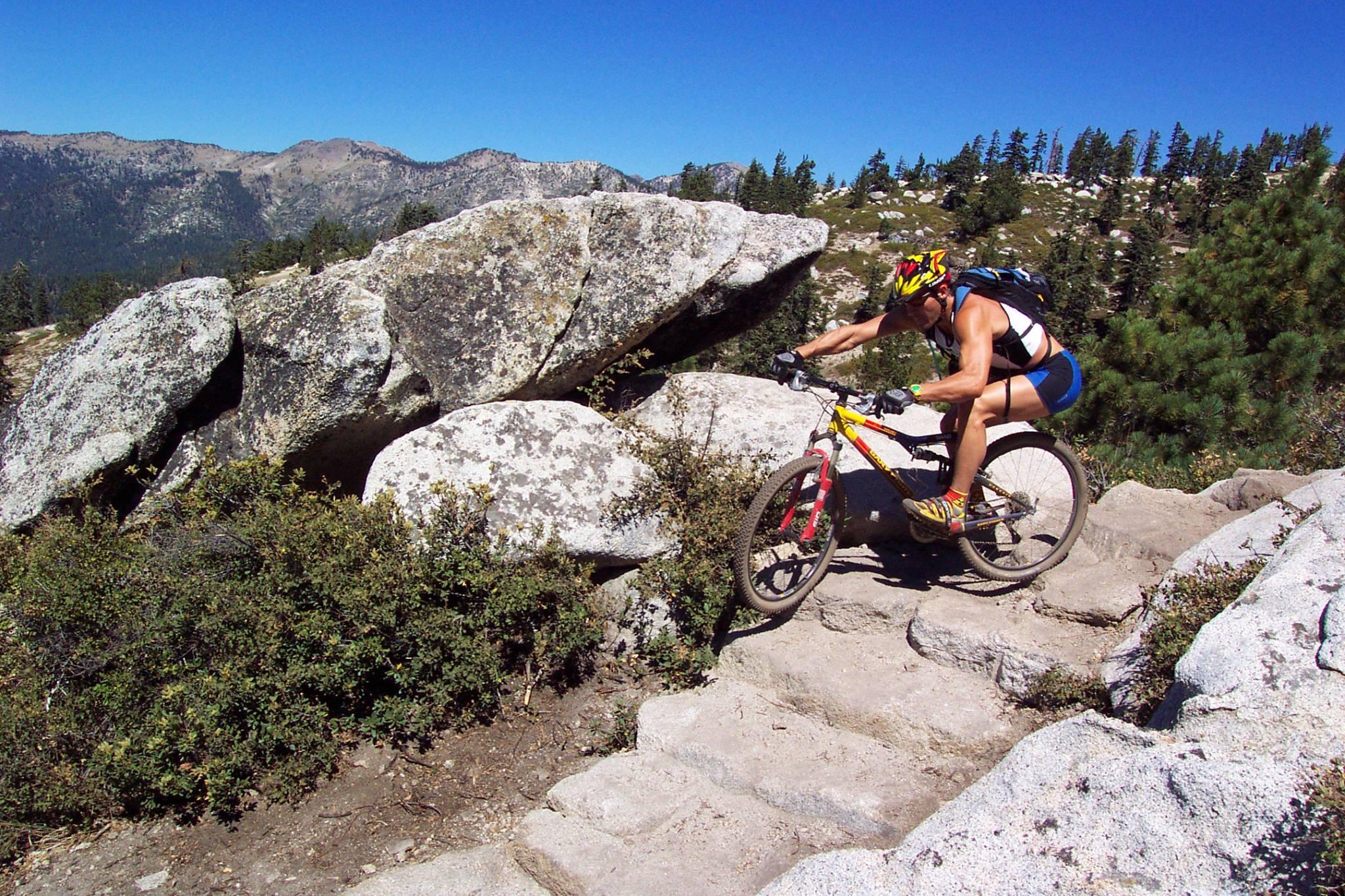 Tahoe Rim Trail, 2001 Photo: Tom LeCount