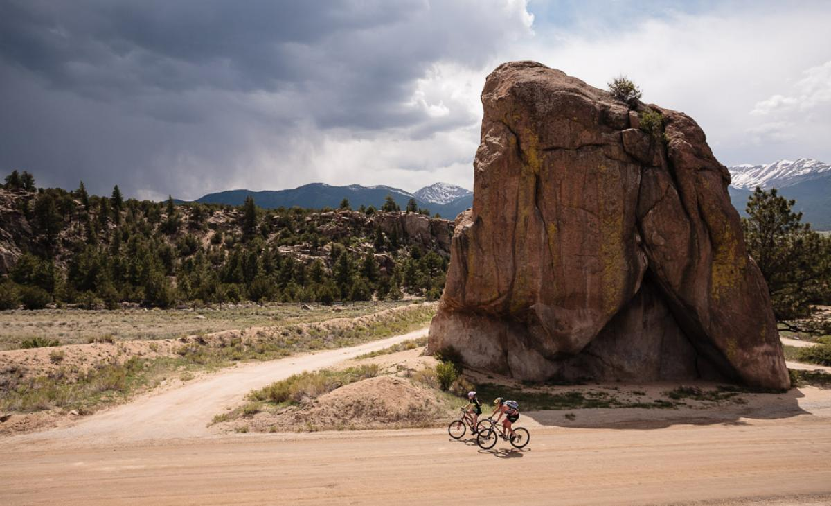 Elephant Rock on the River Rd., Buena Vista, CO. Photo: Scott Anderson.