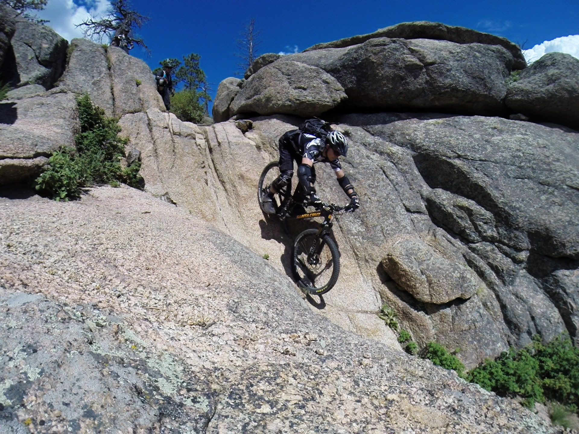 There are some seriously talented riders in Denver BOMB. Adam H drops into the Slot Machine at Buffalo Creek