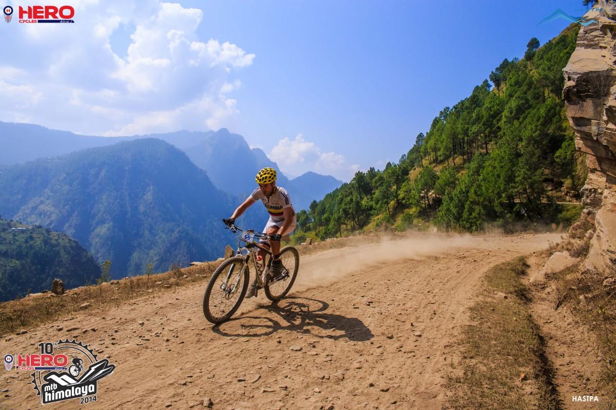 Day 6 at 10th Hero MTB Himalaya 2014 - Picture by Samir Azad