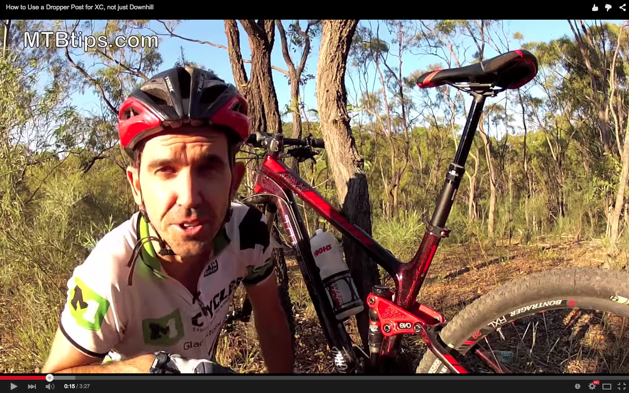Video How To Use A Dropper Post For Xc Not Just Enduro