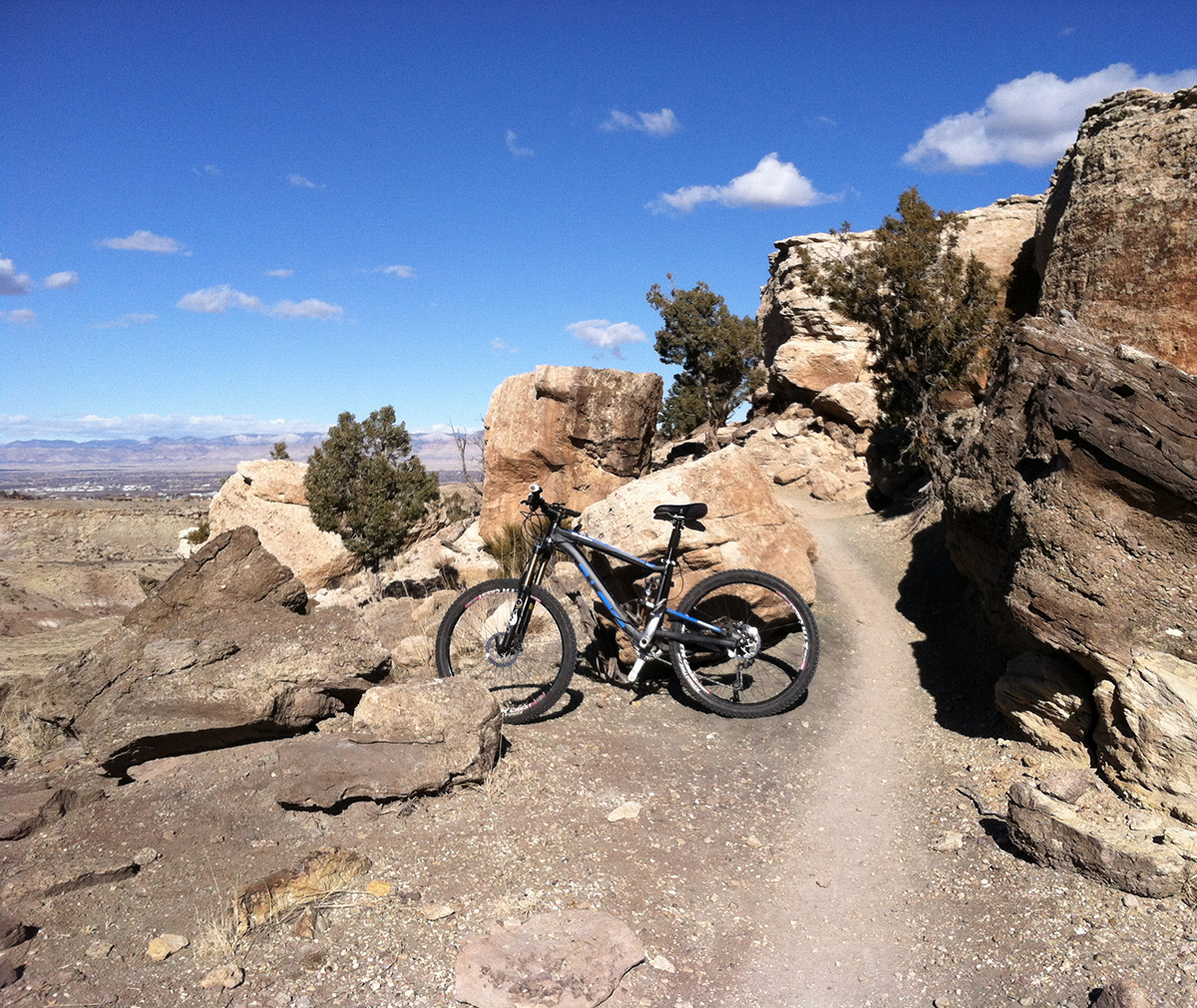 Grand Junction's Lunch Loop trails are the perfect place for, well, lunchtime riding.