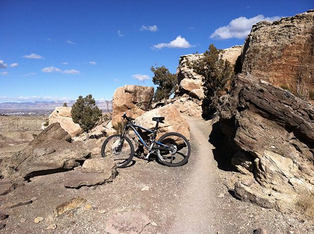 Biking the Coyote Ridge trail on my lunch break is great for my mood.