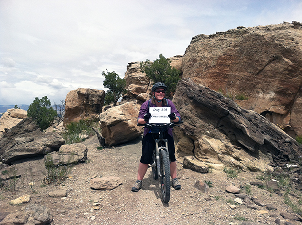 Last year's 30 days of biking challenge helped me to ride more.  Here's hoping I can do the same this year!